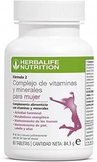 HERBALIFE F2 Complejo de vitaminas y minerales para mujer