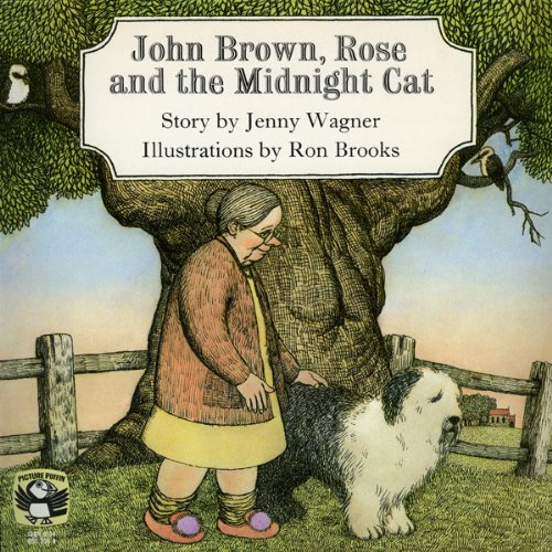 John Brown, Rose, and the Midnight Cat  audiobook cover art