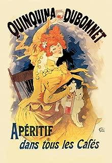 ArtParisienne Quinquina Dubonnet Apéritif Jules Chéret 20x30 Poster Semi-Gloss Heavy Stock Paper Print