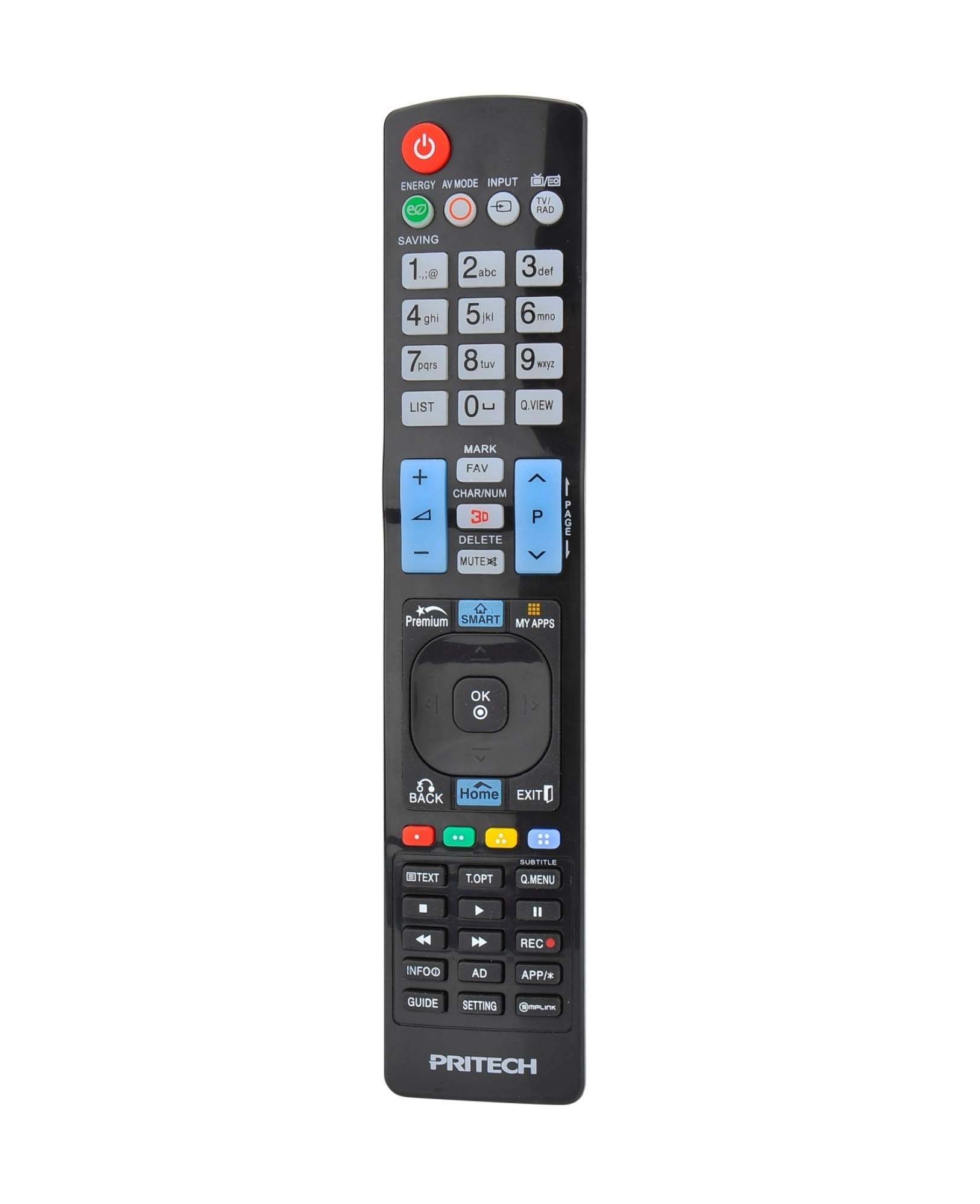 Pritech - Mando a Distancia Universal para Televisores: Amazon.es: Electrónica