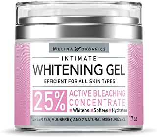 Skin Whitening Intim Gel - Natural Skin Care with Hyaluronic Acid, Lemon Essential Oil & Aloe Vera - Made in USA - Skin Bl...