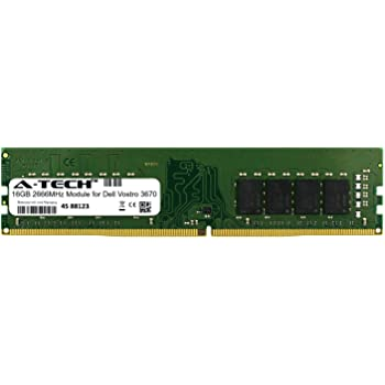 A-Tech 16GB Module for Dell Vostro 3670 Desktop /& Workstation Motherboard Compatible DDR4 2666Mhz Memory Ram ATMS360443A25823X1