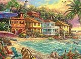 Buffalo Games - Chuck Pinson - Island Time - 1000 Piece Jigsaw Puzzle