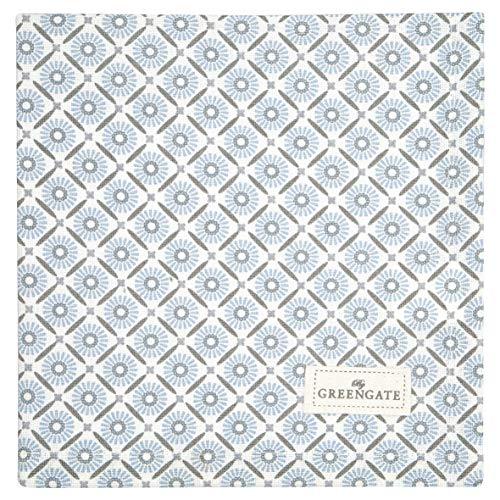 GreenGate - Serviette, Stoffserviette - Alva - Baumwolle - weiß - 40 x 40 cm