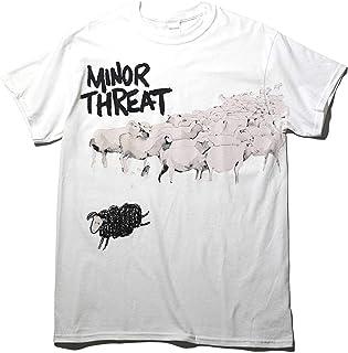 マイナースレット 公式 Tシャツ MINOR THREAT Out Of Step-White