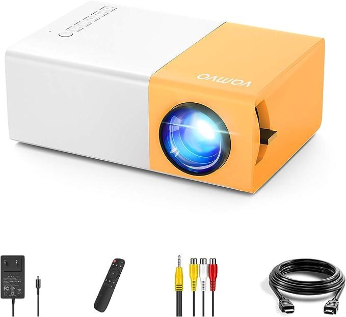 2129 opinioni per Vamvo YG300 Pro Mini Proiettore Supporta 1080P Full HD, Videoproiettore