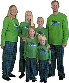 Matching Set Family Christmas Holiday Pajamas + Slipper Socks