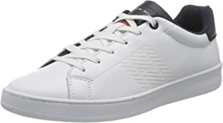 Tommy Hilfiger Retro Tennis Cupsole Leather Sneakers basses - Homme