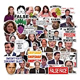 The Office Stickers Pack of 50 Stickers - The Office Stickers for Laptops, The Office Laptop Stickers, Funny Stickers for Laptops, Computers, Hydro Flasks (The Office-A)
