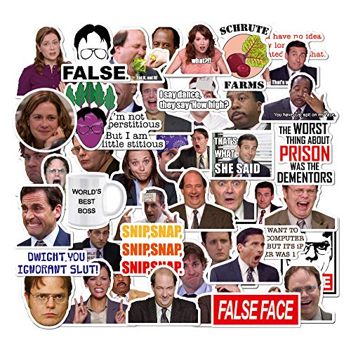 The Office Stickers Pack