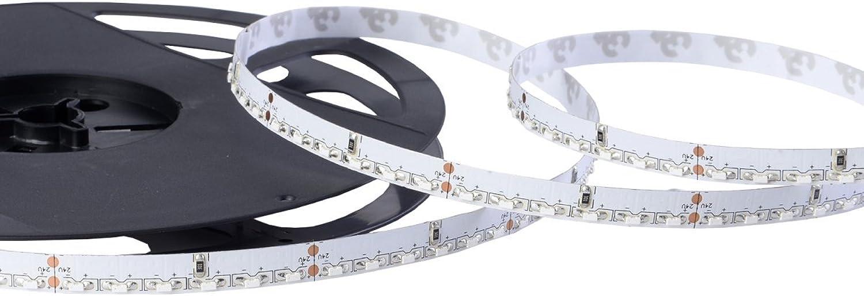 Iluminize LED-Streifen Side-Glow  sehr hochwertiger LED-Streifen Side-Glow in warm-wei 3000K, hoch selektiert, 5 m auf Rolle (24V 120 LEDs m IP65NANO)