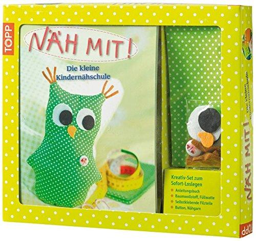 Kreativ-Set Näh Mit!: Anleitungsbuch + Material für eine Eule