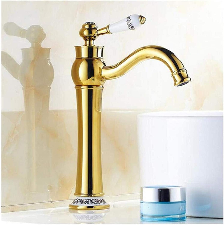 Kitchen Bath Basin Sink Bathroom Taps Bathroom Basin Faucet Hot and Cold Basin Faucet Ctzl4358