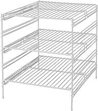Panacea Grayline 40918, 3 Adjustable Base Cabinet Helper Shelf, White