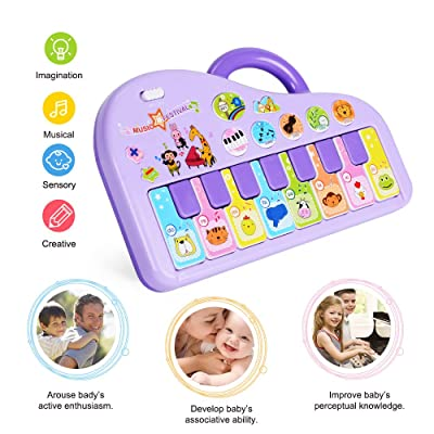 NextX Baby Musical Toys, Toddler Piano Infant L...