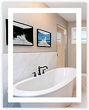 LED Front-Lighted Bathroom Vanity Mirror: 32