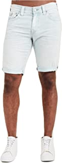 Men's Ricky Straight Corduroy Shorts w/Flaps In Morning Blue