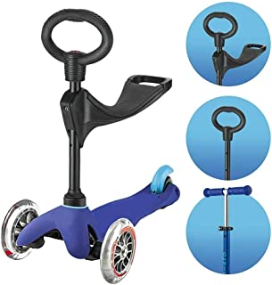 Globe Scooter Lights in Wheels - Multiple Options Sit & Stand (Blue)