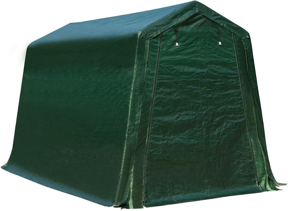 HUIJK Storage Sheds 7'x12' Durable Tent Patio Sh Carport Direct Classic store