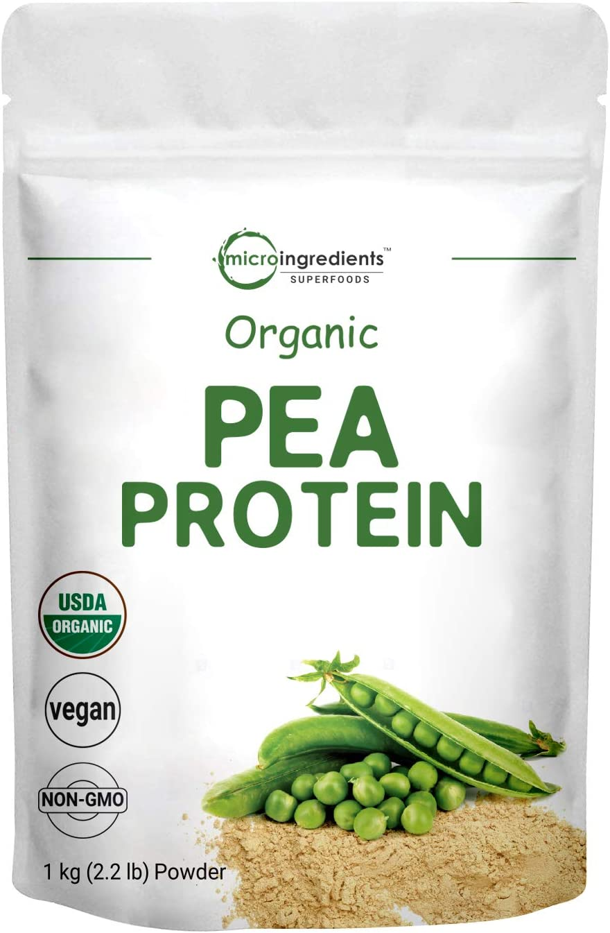 Organic Pea Protein Powder 2.2 Organi 1KG Pounds Same day 2021 spring and summer new shipping