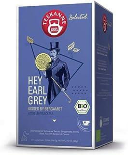 Teekanne Selected Hey Earl Grey Biotee Luxury Cup Pyramidenbeutel 40g