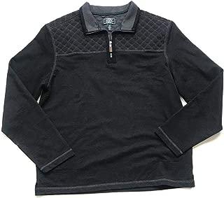G.H. Bass & Co. Men's Quarter-Zip Fleece Pullover