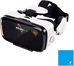 BOBOVR Z4 Xiaozhai Z4 3D VR 3D gafas de visión 120 ° FOV 3d VR Virtual Reality auricular 3d Movie Video Game Privado Theater con auriculares para iPhone 6/6 Plus iPhone 7/6S Plus Samsung S8 / S8 Plus Samsung Galaxy 4.0~6.0 pulgadas IOS Android Smartphon