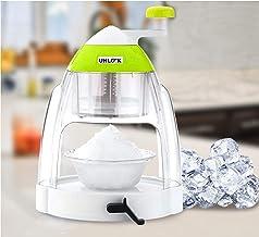 UNLOCK™ Home Ice Gola Slush Maker Ice Snow Maker Machine with 3 Bowl, 1 Glass, 4 Sticks (Multicolor)
