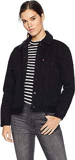 Premium Ex-Boyfriend Sherpa Trucker Forever Black/Saturated Black on Black Sherpa SM