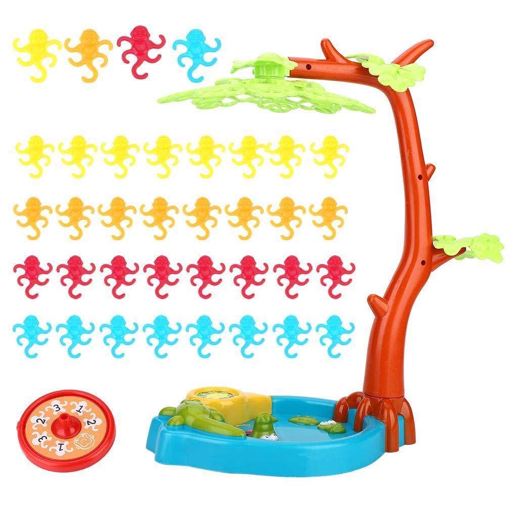 Alomejor Juguetes Juego de Mesa de Equilibrio de los Monos del arbol de los Monos Ninos Juguete para ninos: Amazon.es: Deportes y aire libre
