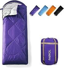 PARKOL Sleeping Bag for Adults & Kids - 3 Seasons Warm & Cold Weather - Summer, Spring, Fall, Waterproof, Lightweight, Por...