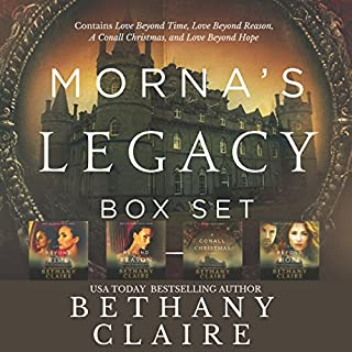 Morna's Legacy Set #1     Scottish Time Travel Romances              By:                                                                                                                                 Bethany Claire                               Narrated by:                                                                                                                                 Lily Collingwood                      Length: 24 hrs and 50 mins     803 ratings     Overall 4.4