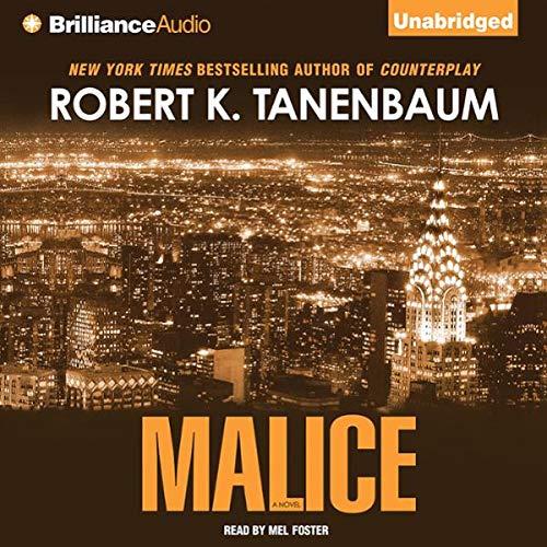 Malice audiobook cover art