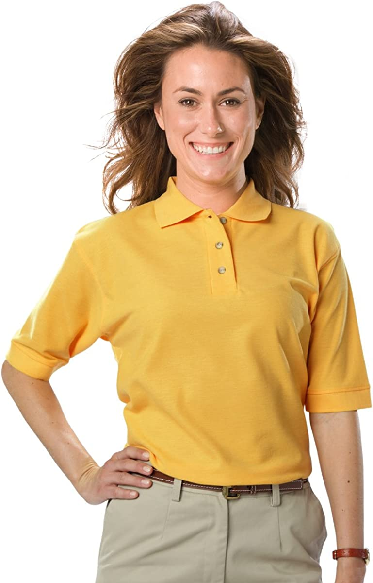 Averill's Sharper Uniforms Women's Ladies Waitstaff Teflon Protected Poly Cotton Polo Shirt