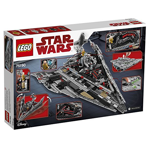 LEGO Star Wars Croiseur Premier Ordre Star Destroyer First Order 75190 - 1416 Pièces - 6
