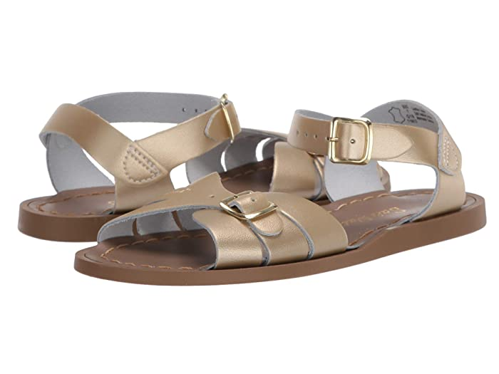 Salt Water Sandal by Hoy Shoes  Classic (Little Kid) (Gold) Girls Shoes
