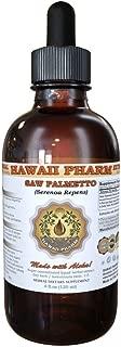 Saw Palmetto Liquid Extract, Organic Saw Palmetto (Serenoa Repens) Tincture 2 oz