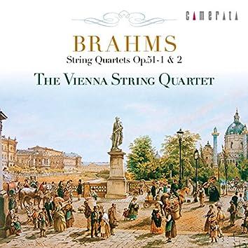 Brahms: String Quartets Op. 51-1 & 2
