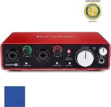 Focusrite Scarlett 2i2 Second Generation (2nd Gen) 2-in, 2-out USB Audio Interface