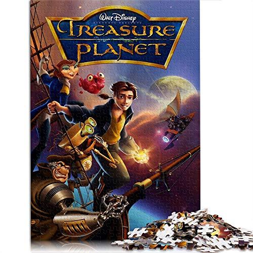 """Il pianeta del tesoro 1000 pezzi puzzle regalo per adulti poster 1000 pezzi puzzle puzzle per adulti adolescenti giocattoli fai da te 14,9""""x10,2"""""""