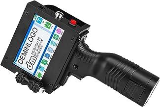 """Imprimante Jet D'encre Portable - TOPQSC écran Tactile 4,3"""" 600 DPI - Codage Automatique Compact Portable - Étiquettes pou..."""