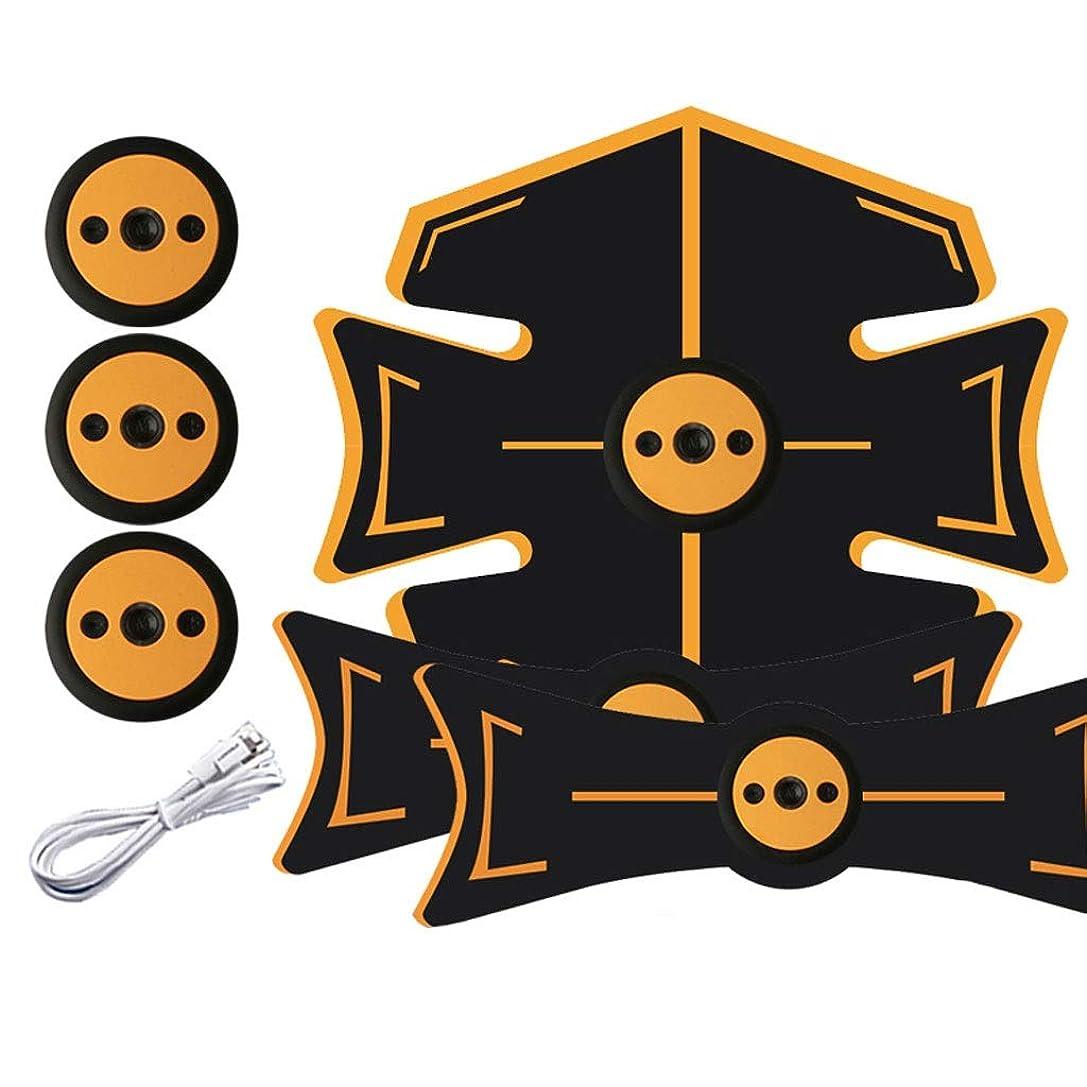 航空便お酒センサー腹部刺激装置、腹部調色ベルト、マッスルトナー、ポータブルマッスルトレーナー、ボディマッスルフィットネストレーナー9モード&15レベル腹部用シンプル操作