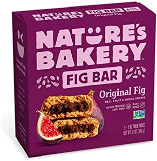 Nature's Bakery Whole Wheat Bar, Fig, 6 Count