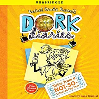Dork Diaries 3     Tales from a Not-So-Talented Pop Star              By:                                                                                                                                 Rachel Renee Russell                               Narrated by:                                                                                                                                 Lana Quintal                      Length: 3 hrs and 14 mins     20 ratings     Overall 4.4