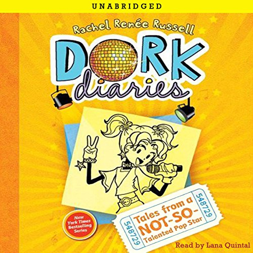 Dork Diaries 3 audiobook cover art