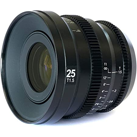 SLR Magic MicroPrime Cine 25mm T1.5 for Micro Four-Thirds