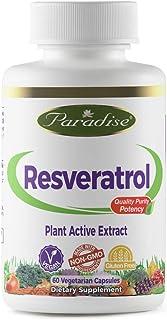 Sponsored Ad - Paradise Resveratrol - Plant Active Extract - 20% Trans Resveratrol from Polygonatum cuspidatum - 100% Natu...