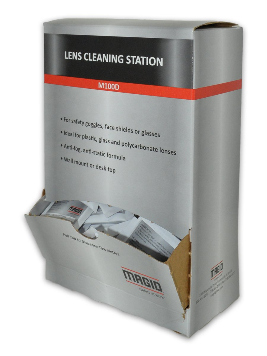 Magid Washington Mall latest M100D 100 Lens Cleaning Towelettes Dispenser per with