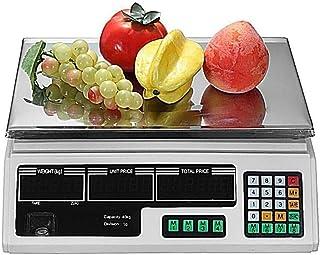 Professionnel Balances de pesage 30kg électriques, balance de cuisine LCD Digital calculatrice électronique des prix balan...