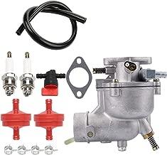 Kizut 390323 Carburetor for Briggs and Stratton 394228 398170 8HP 7HP 9HP Horizontal Engine Toro Carb w Spark Plug Fuel Line Filter Parts Kit